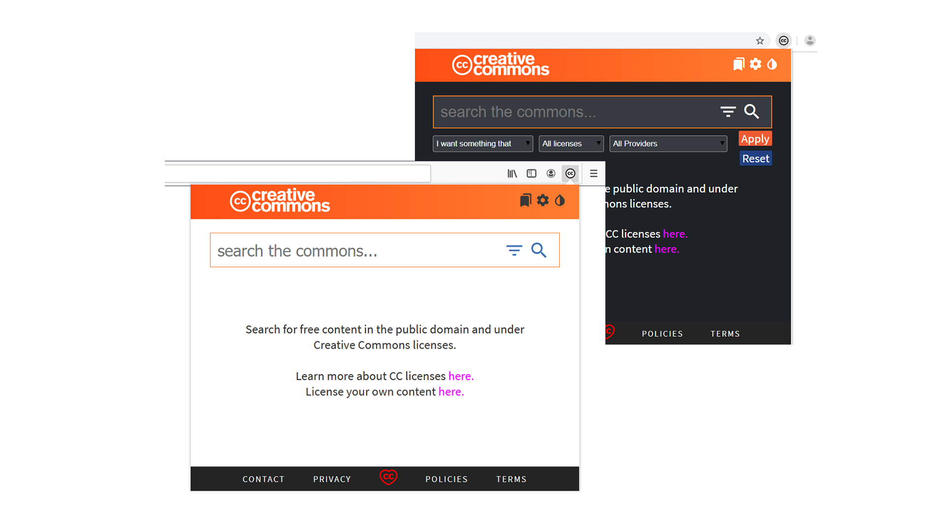 GitHub - creativecommons/ccsearch-browser-extension: Cross