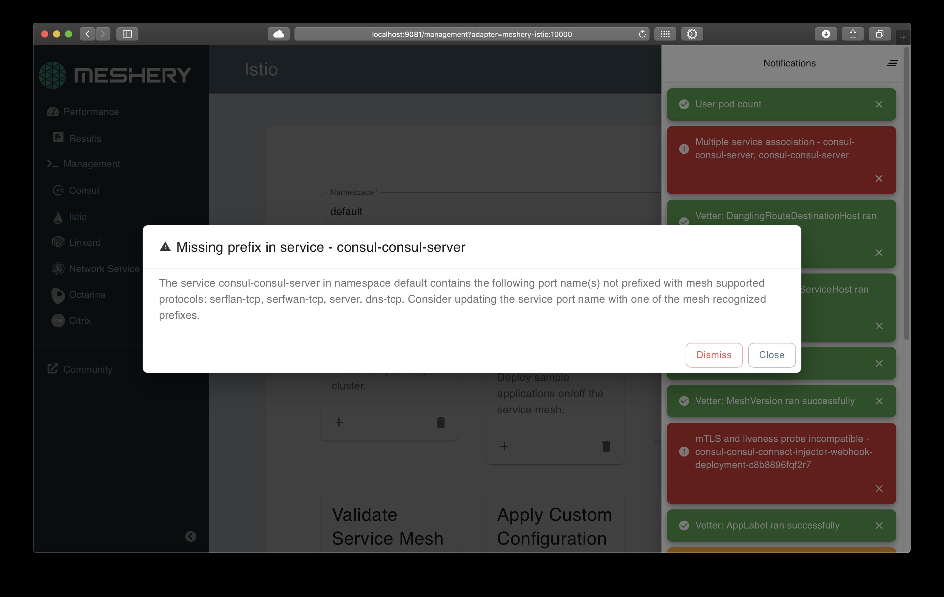 Layer5 Service Mesh Configuration Management