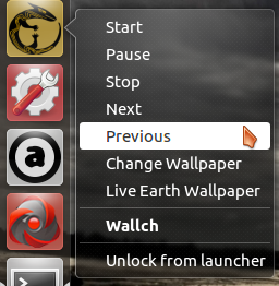Launcher shortcuts of Audacious