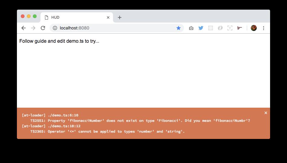 Webpack TypeScript demo