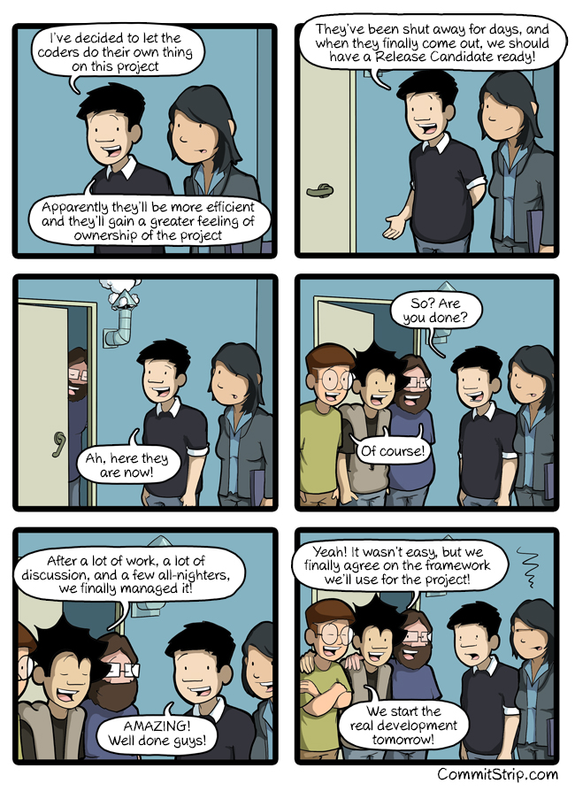When we leave coders to do their own thing