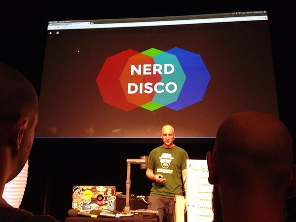 NERD DISCO at JSConf EU 2014 by Tim Pietrusky