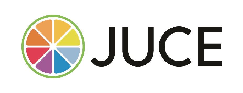 JUCE is an open-source cross-platform C++ application framework for desktop and mobile applications, including VST, VST3, AU, AUv3, RTAS and AAX audio plug-ins.