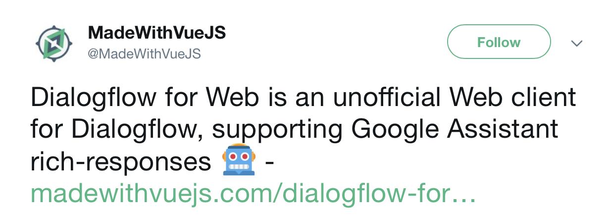 GitHub - mishushakov/dialogflow-web-v2: 🖥 Web App for Dialogflow V2