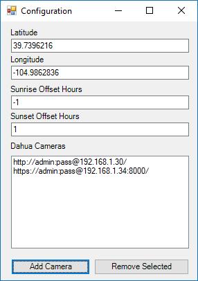 GitHub - bp2008/DahuaSunriseSunset: A Windows Service which