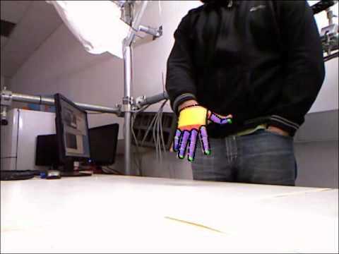 Single hand tracking