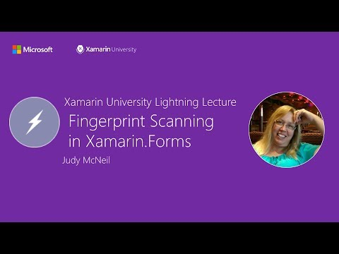 Fingerprint plugin for Xamarin