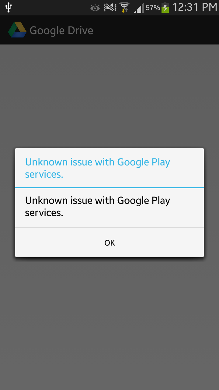 Unknown issue with Google play services · Issue #2