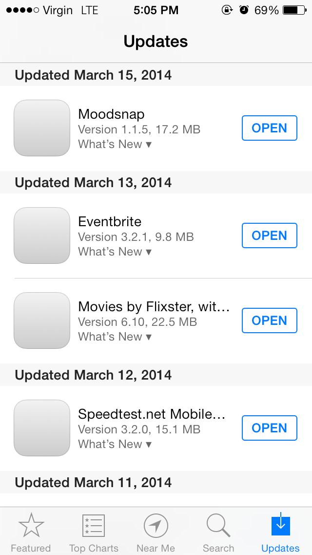 iOS 7 updates fullscreen