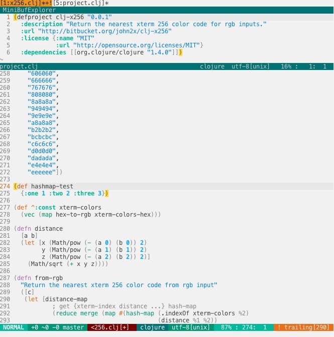 FlatUI with Clojure