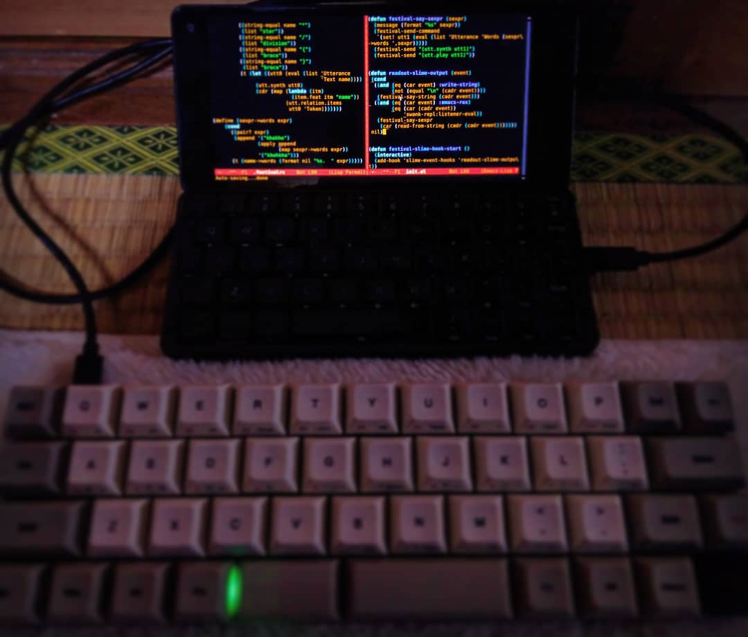 My lisp terminal