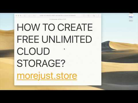 Morejust storage installation demo