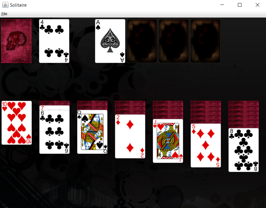 GitHub - Cristy94/Java-AWT-Solitaire-Game: Java solitaire game