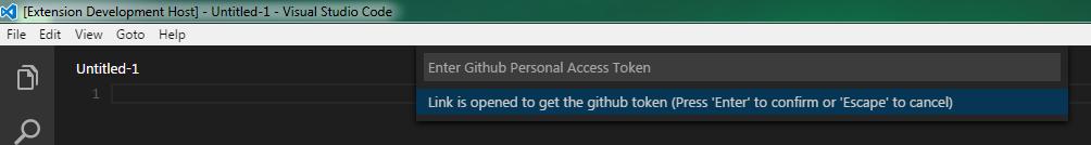 github account access token