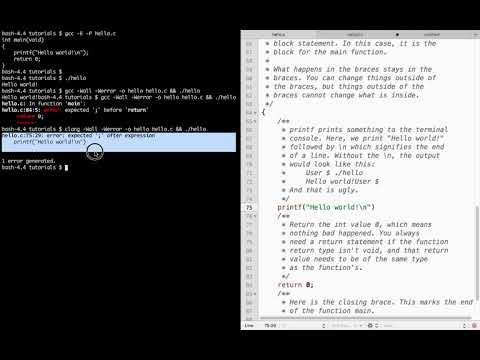 GitHub - easyaspi314/c-tutorial: easyaspi314's Intro to C tutorial