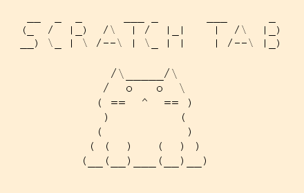 scratch tab in ascii