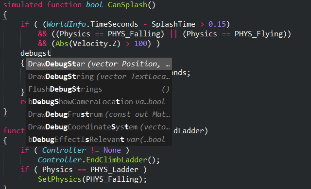 GitHub - Zinggi/UnrealScriptIDE: Auto-completion, Syntax