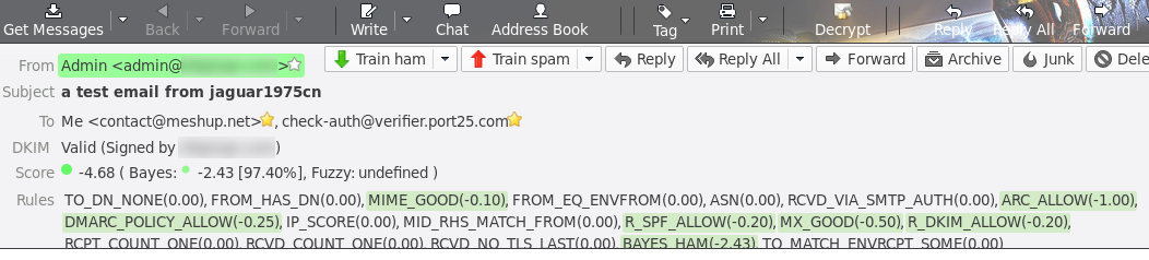Outgoing email ended up in SPAM in Gmail · Issue #210