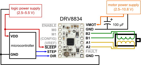 GitHub  laurb9StepperDriver  Arduino library for A4988