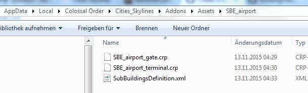 Cities Skylines Asset Building Settings