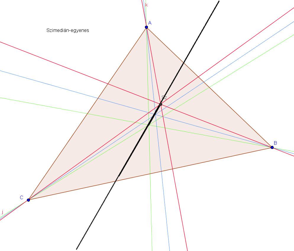 Szimedián-egyenes