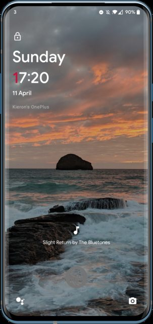 Ambient Music Mod on lock screen