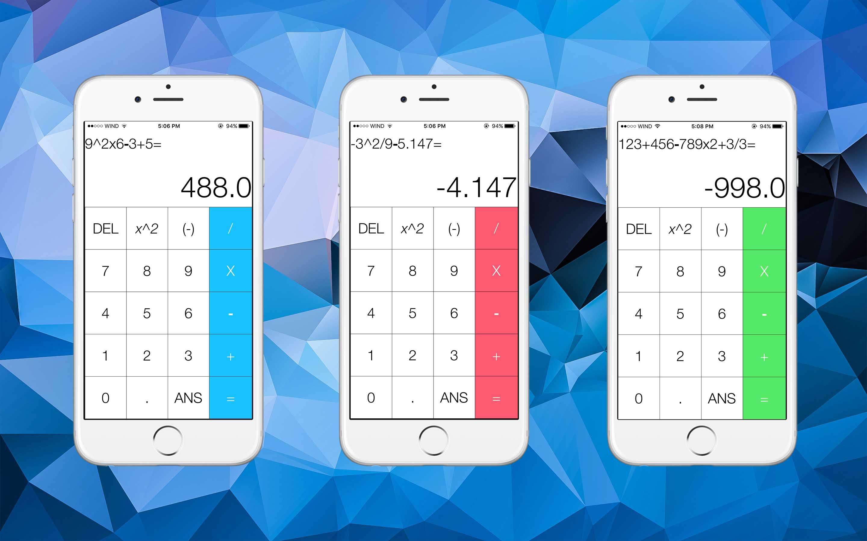 GitHub - JackyChiu/iOS_Calculator: Intermediate calculator