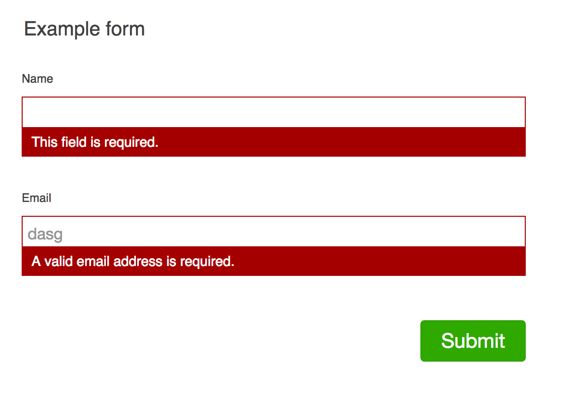 Github Evernotejquery Form Validation A Jquery Form Validation