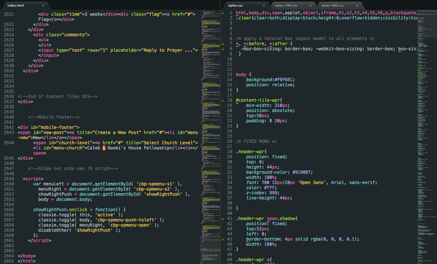 Monokai Soft Theme HTML