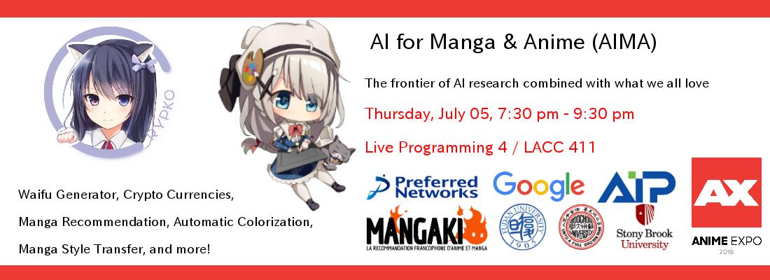 AI for Manga & Anime