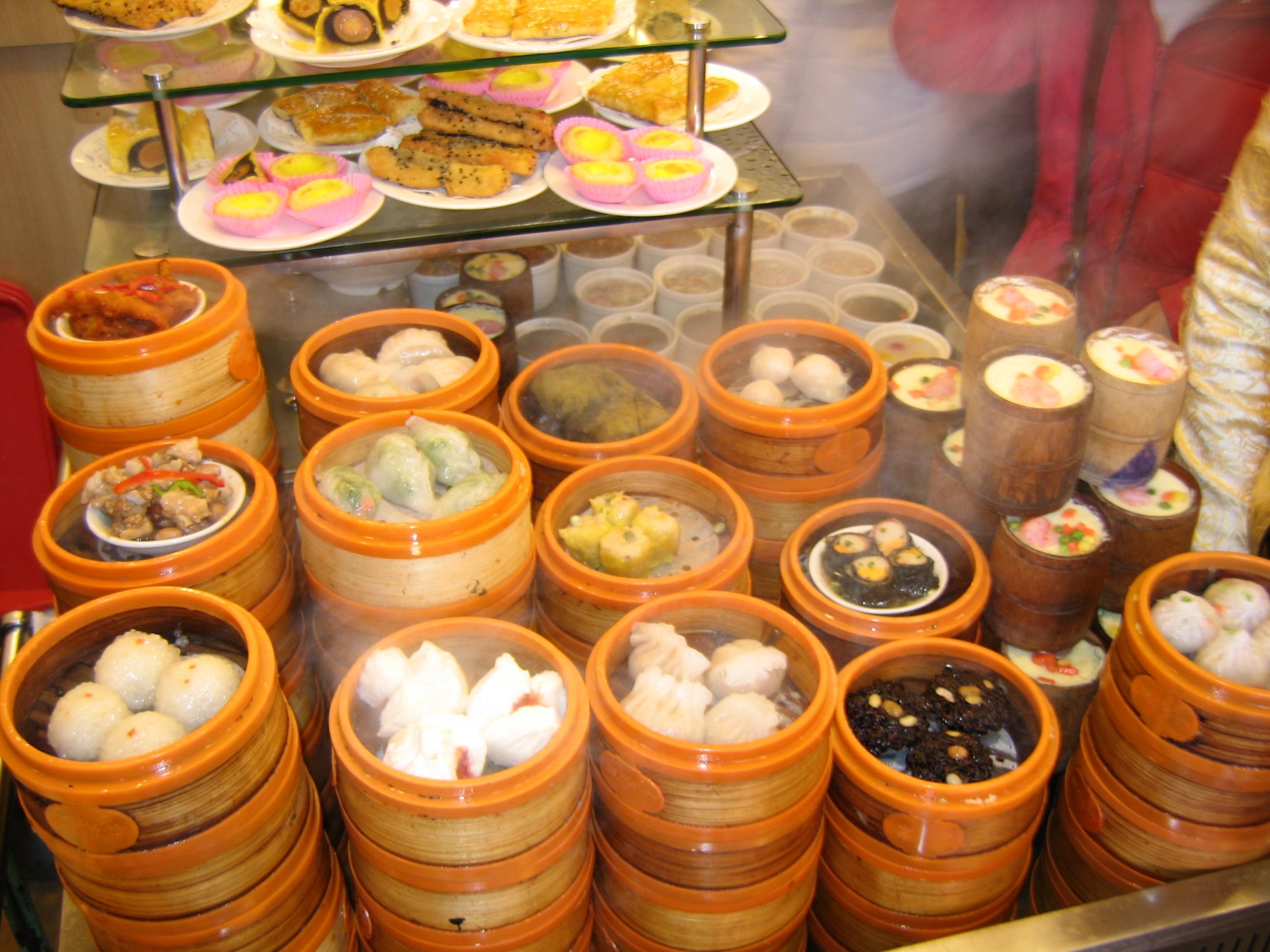 dim sum in Shanghai