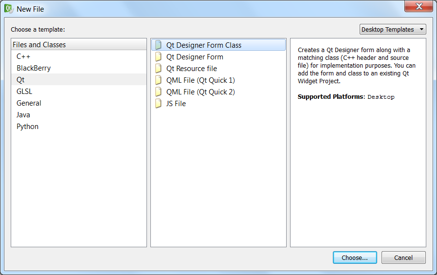 Creating a cpp application with a Qt GUI window · karajensen