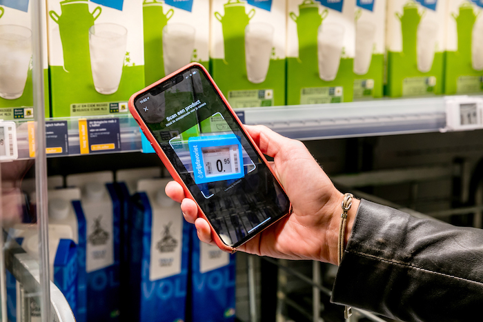 Ahold Delhaize: Mobile price scanning