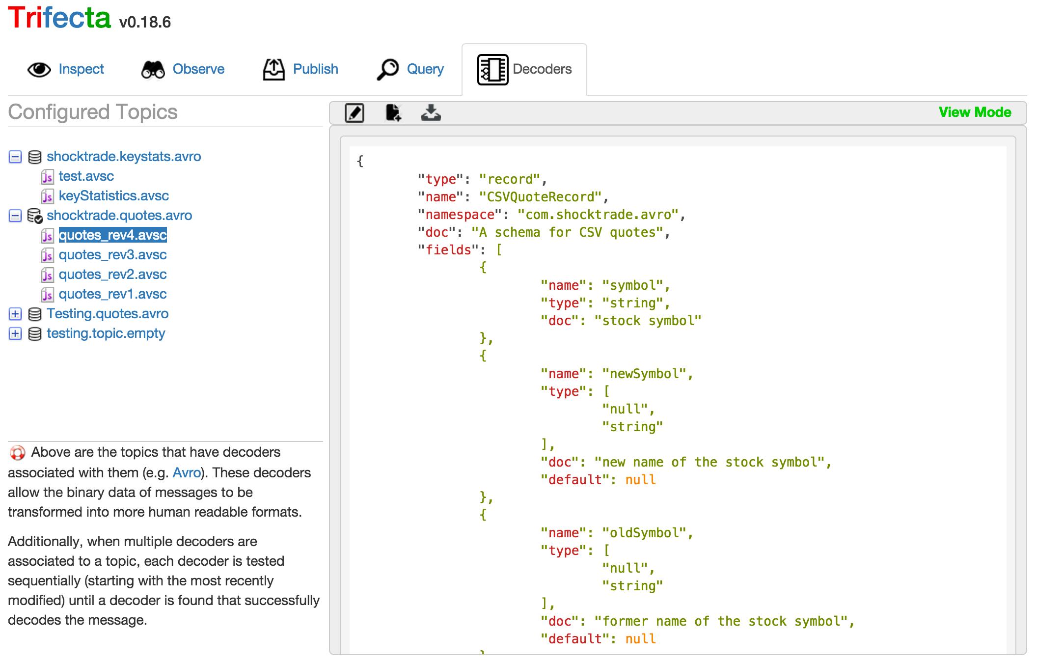 Github Ldaniels528trifecta Trifecta Is A Web Based And Cli Tool