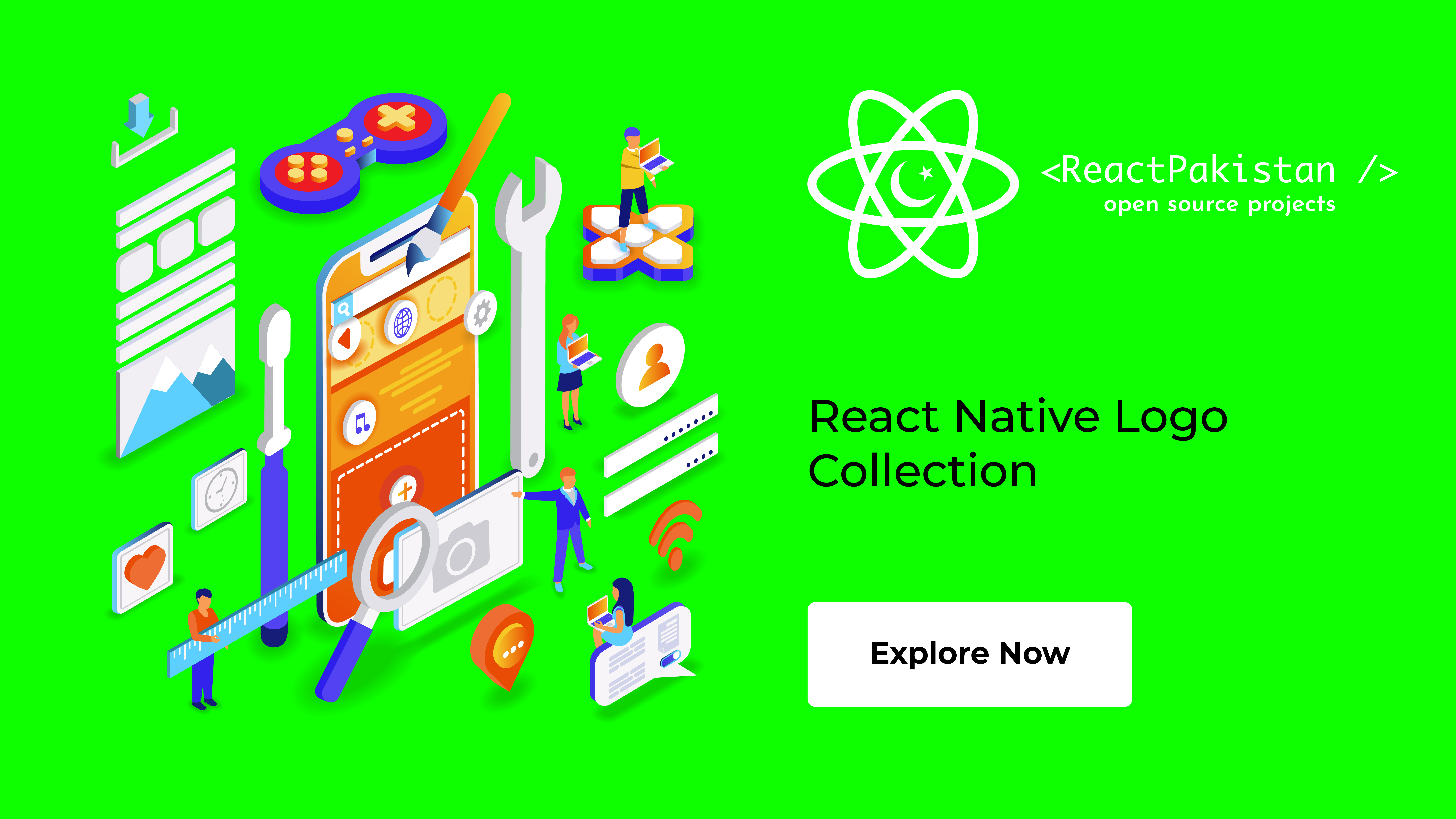 React Pakistan - React Native Logo Collection