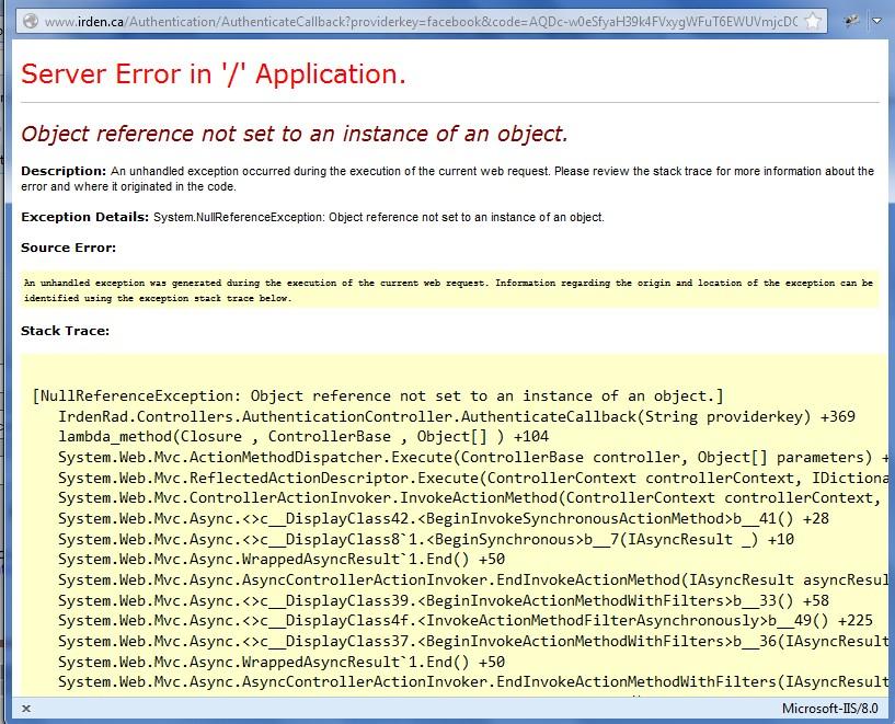 Facebook Authentication error · Issue #56