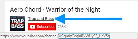 Где найти channel id