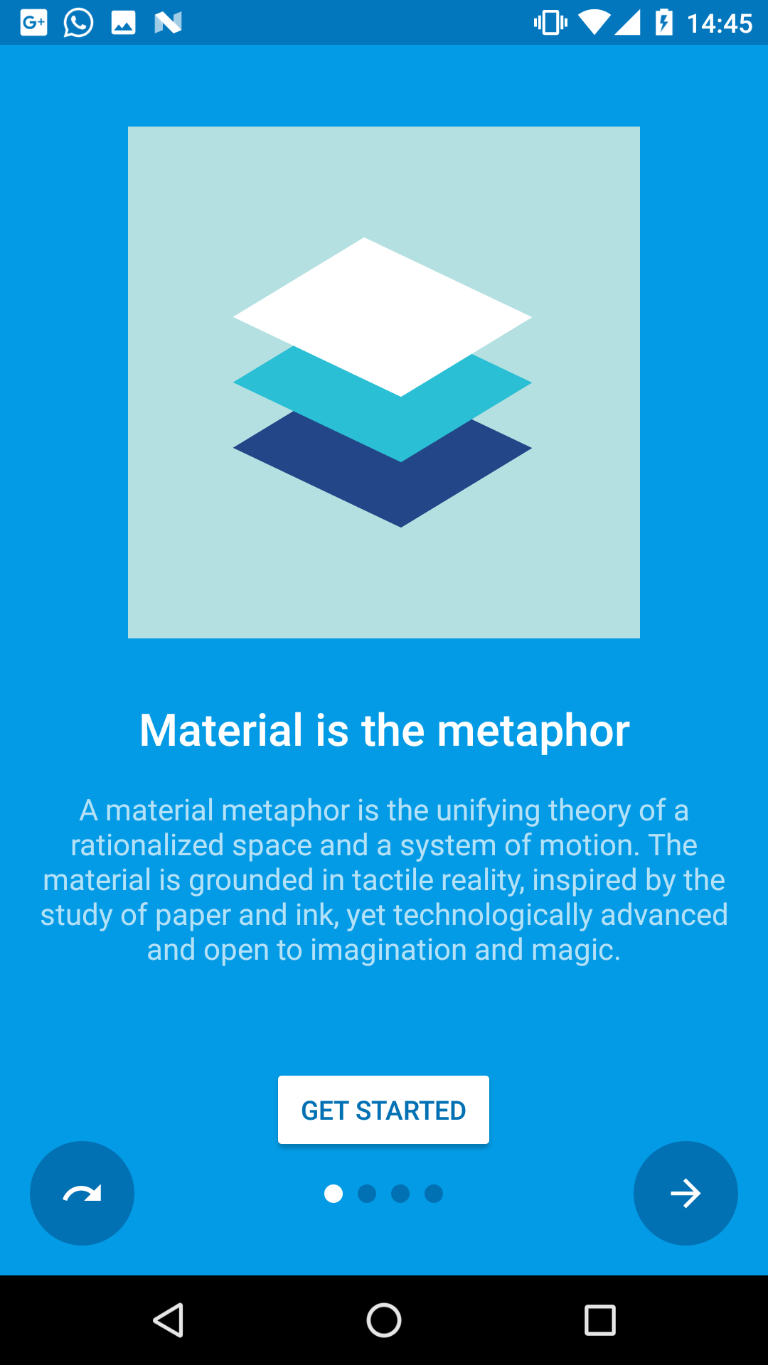 GitHub - heinrichreimer/material-intro: A simple material design app