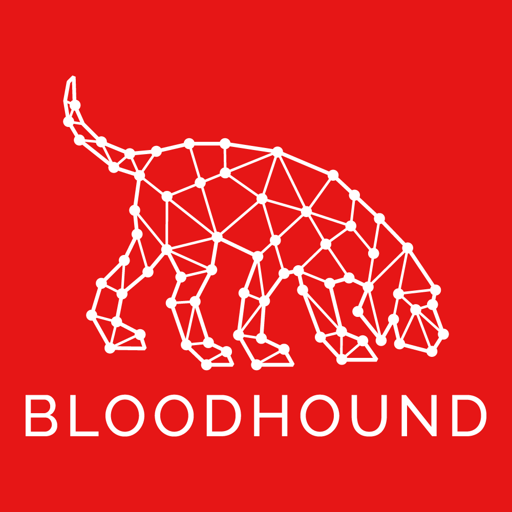 BloodHound White on Red Logo