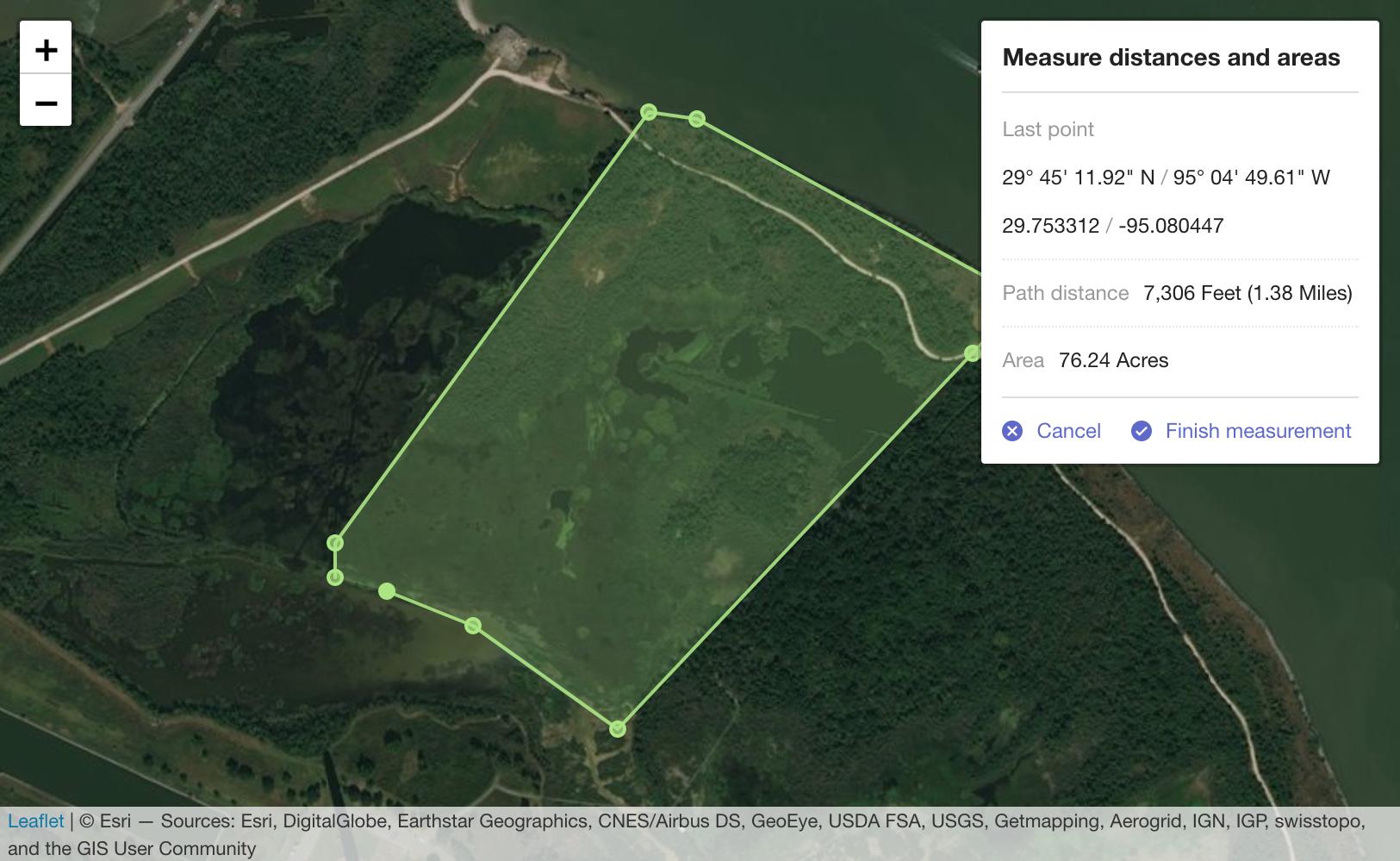 GitHub - ljagis/leaflet-measure: Coordinate, linear, and area
