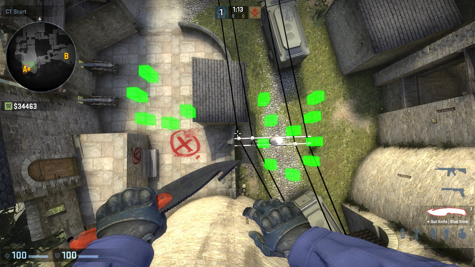 Spawn points are incorrect · Issue #47 · splewis/csgo