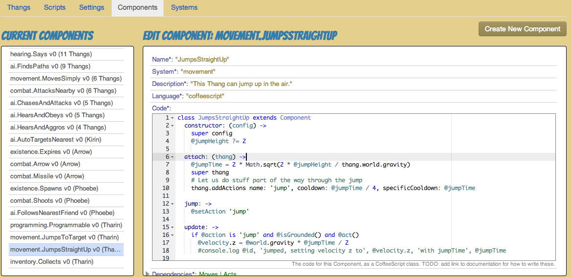 Code for the movement.JumpsStraightUp Component