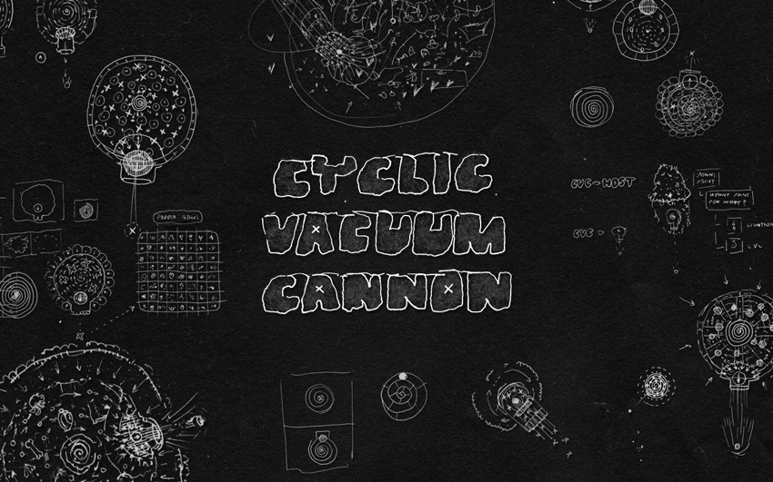 Cyclic Vacuum Cannon Title Screen
