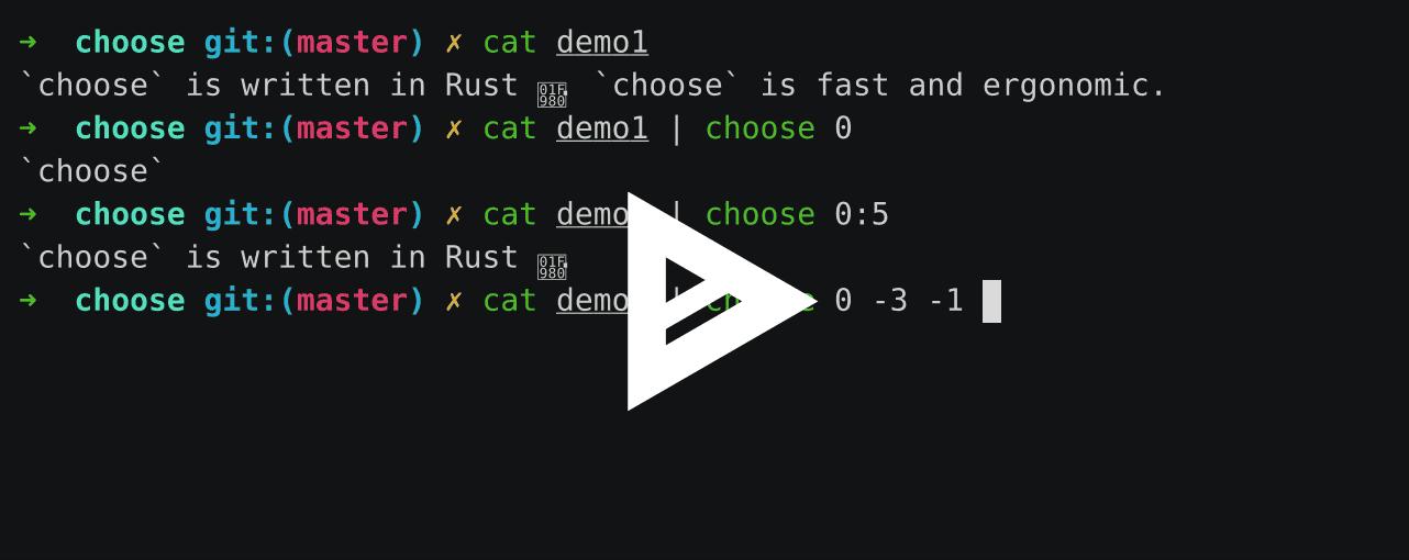 choose demo