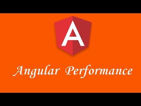 Thumbnail Angular Performance tutorial