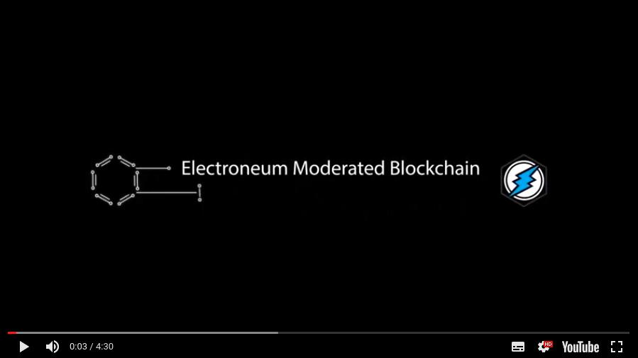 Electroneum Moderated Blockchain