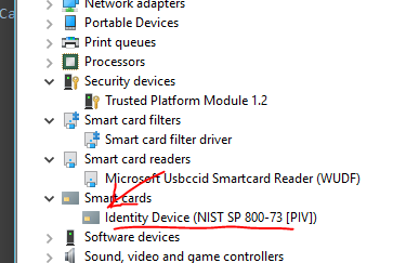 smartcard found