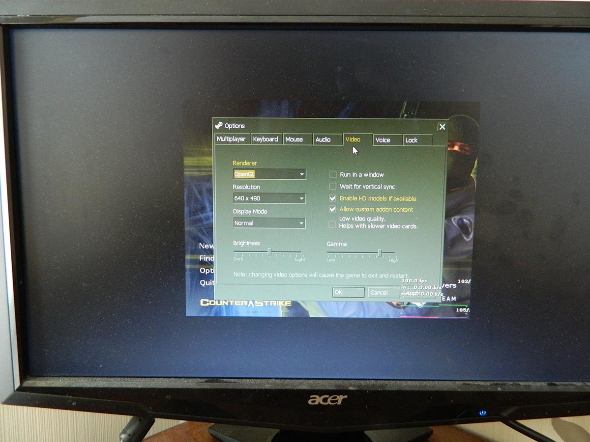 4 3 Aspect Ratio stretches on widescreen monitors/TV's