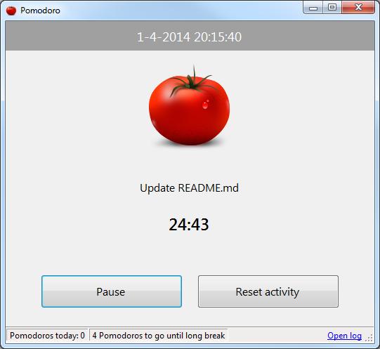 GitHub - SoftwarePunt/Pomodoro: Pomodoro timer for Windows
