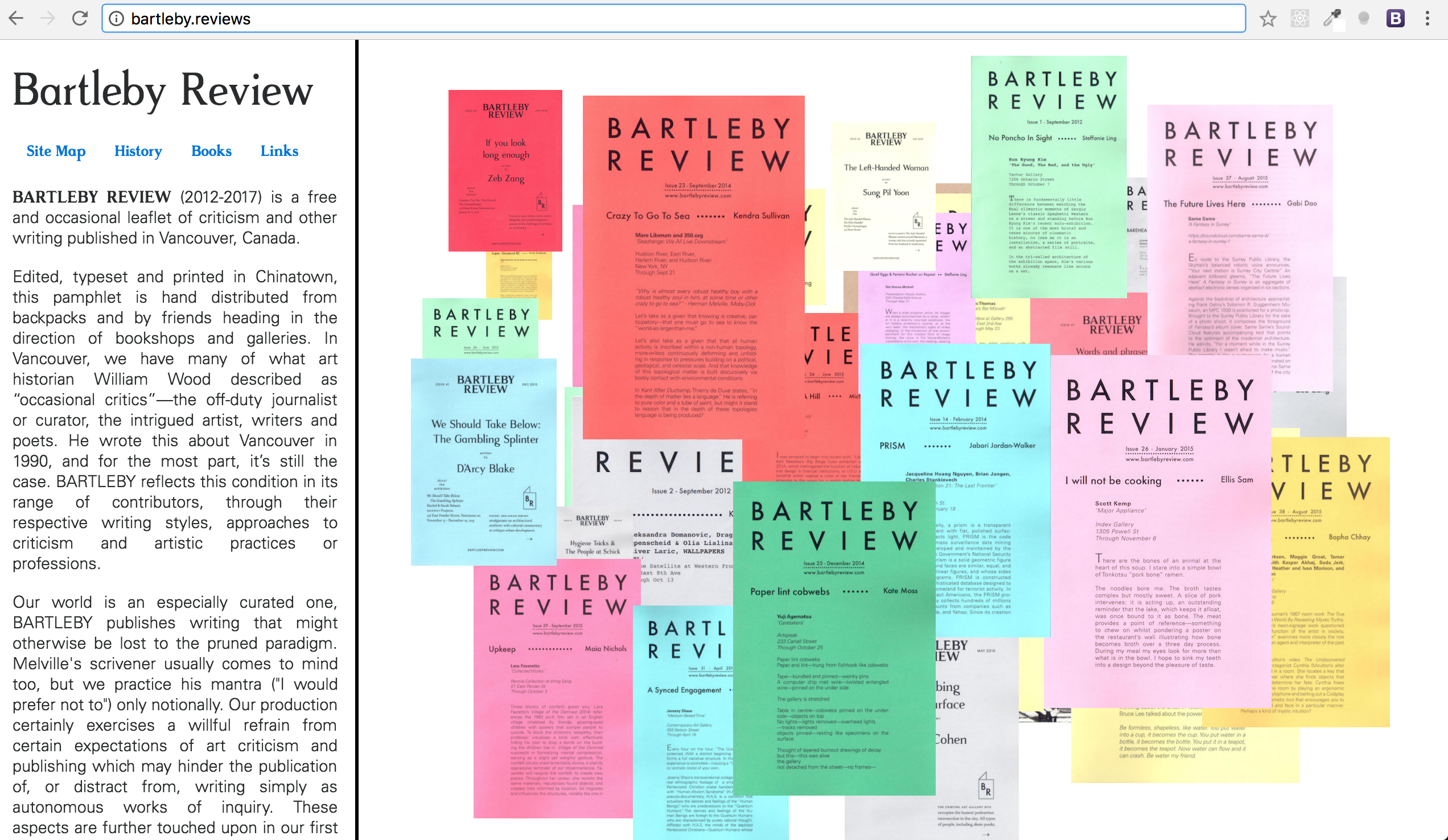 bartleby review